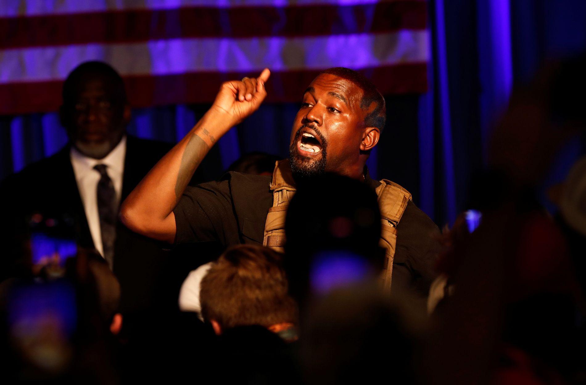 Kanye West med Twitter-utbrudd: – Dere prøvde låse meg inne – VG