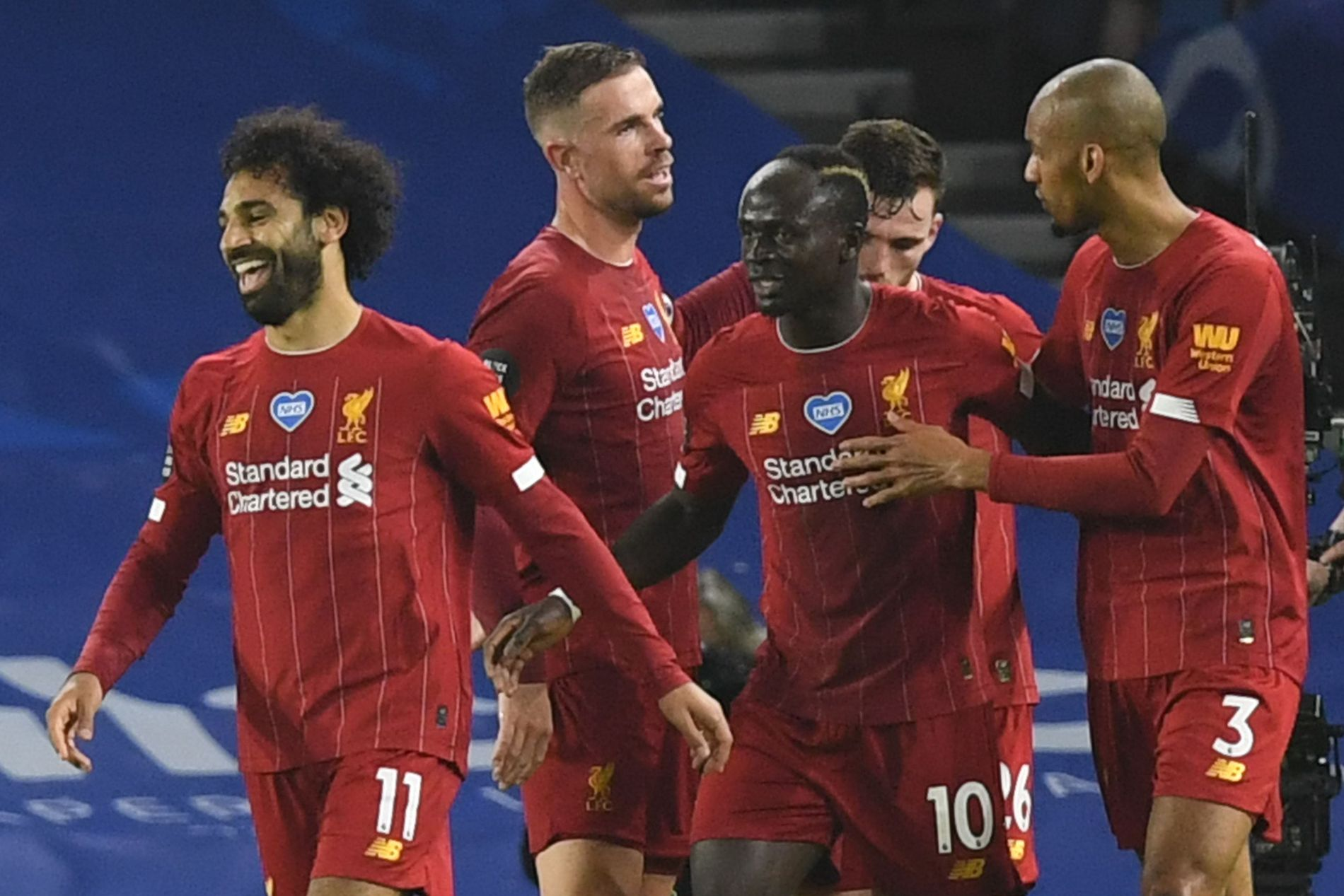 Salah-dobbel  da  Liverpool  vant  i  Brighton