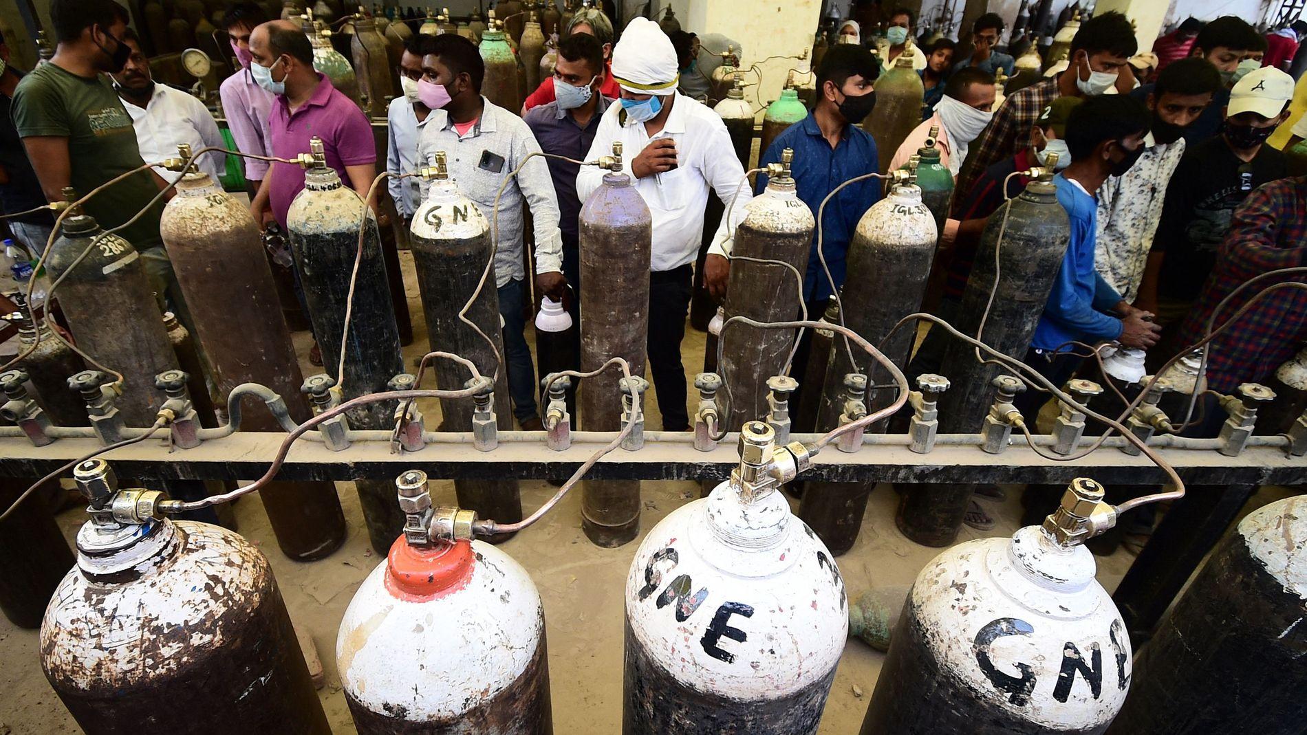 Indisk domstol om oksygen-krisen: – Ikke mindre enn et folkemord