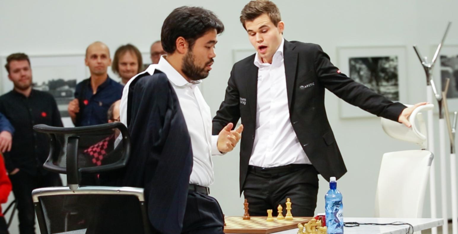 Carlsen Sikret Seg Enda En Tittel Nakamura Knust Vg