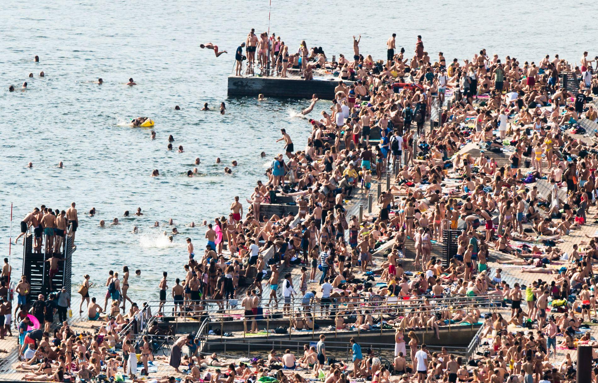 sitios y playas en oslo - Baño de mar de Sørenga