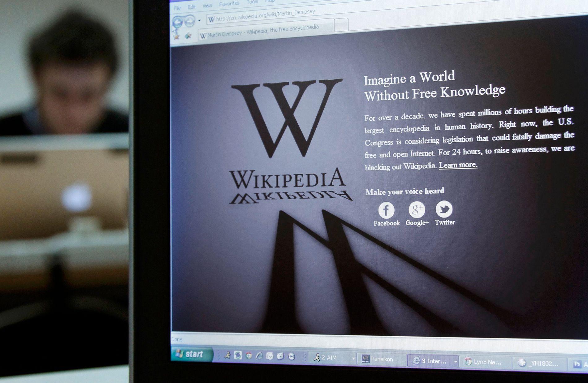 Wikipedia blokkert i Tyrkia