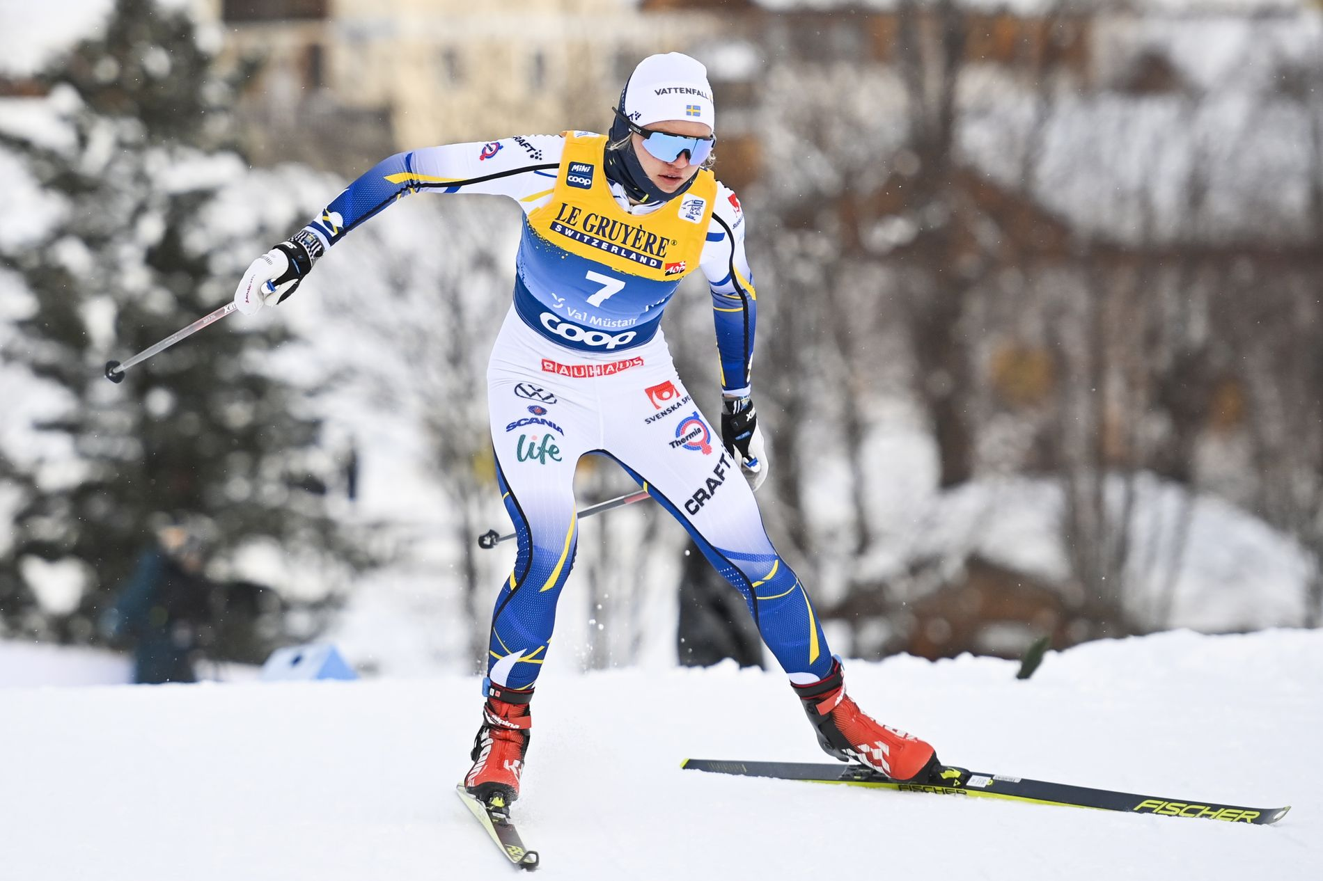 Linn Svahn Had To Give Extra Gas Won The Sprint Vg Time24 News
