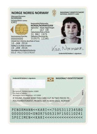 Nye Norske Pass Hylles Internasjonalt Vg
