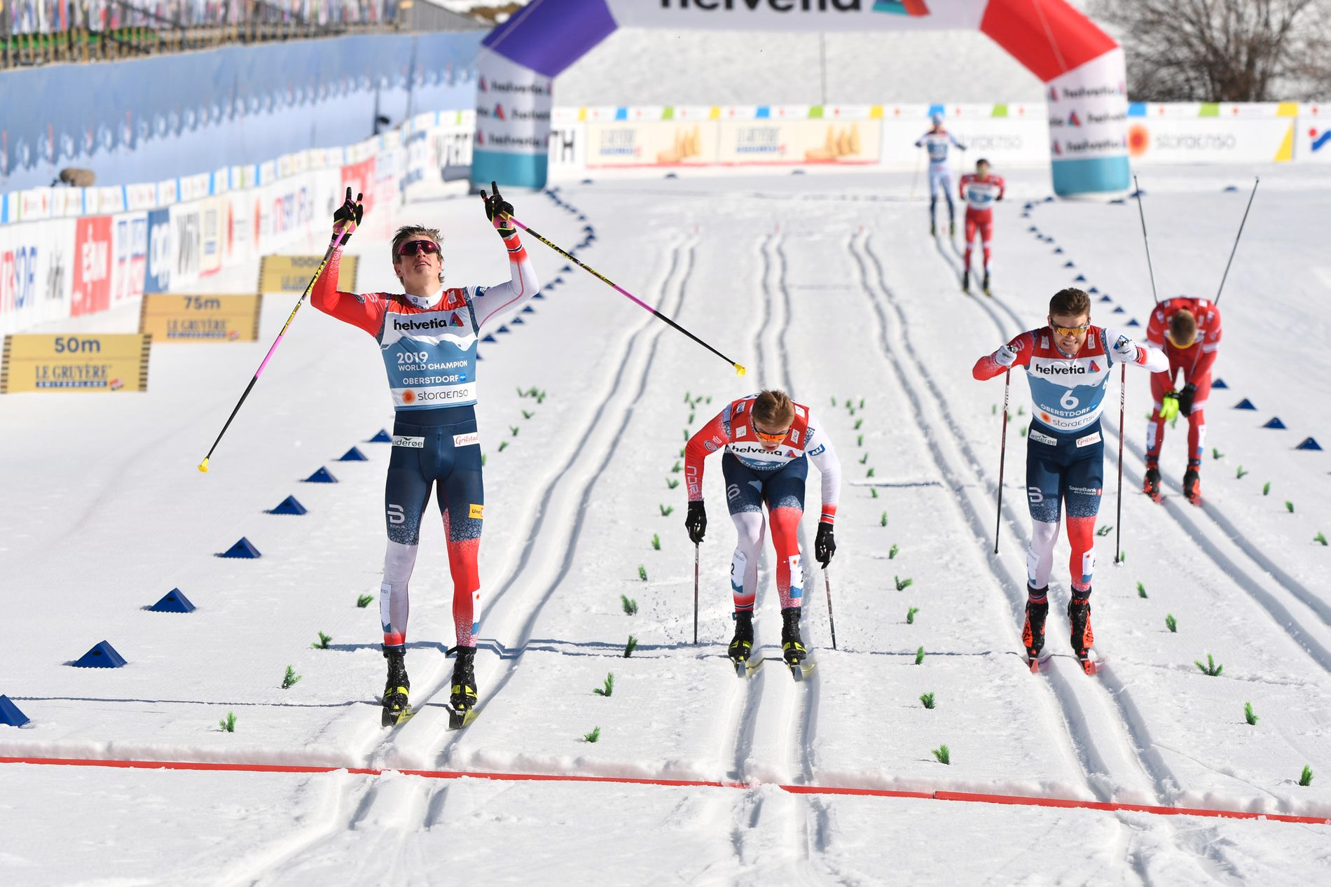 World Cup gold for Klæbo – triple Norwegian – VG
