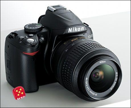 Kjøp Nikon D3000 Lader (Bil og nett) for digitalkamera