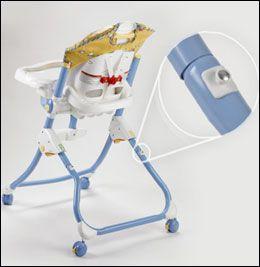 Farlig barnestol tilbakekalles