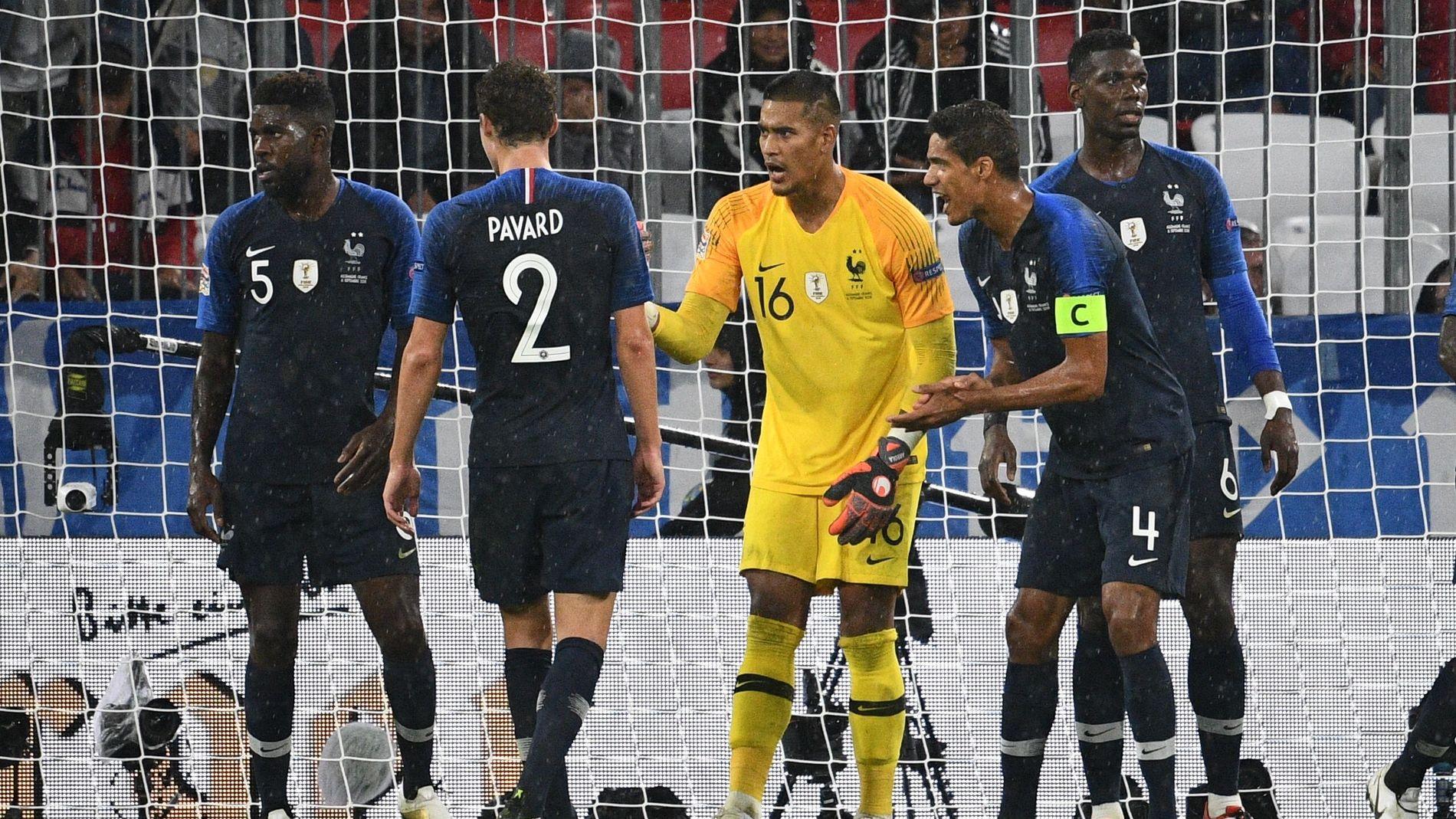 Frankrikes Herrelandslag Fotball Vg