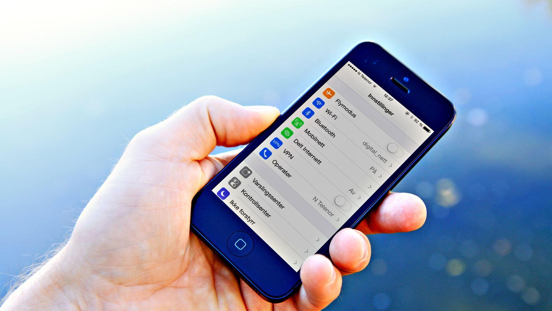 Enkel guide: Få større tekst på mobiltelefonen Slik