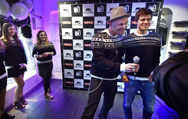 Her overrasker Magnus Carlsen genser designer Ingrid (15) – VG