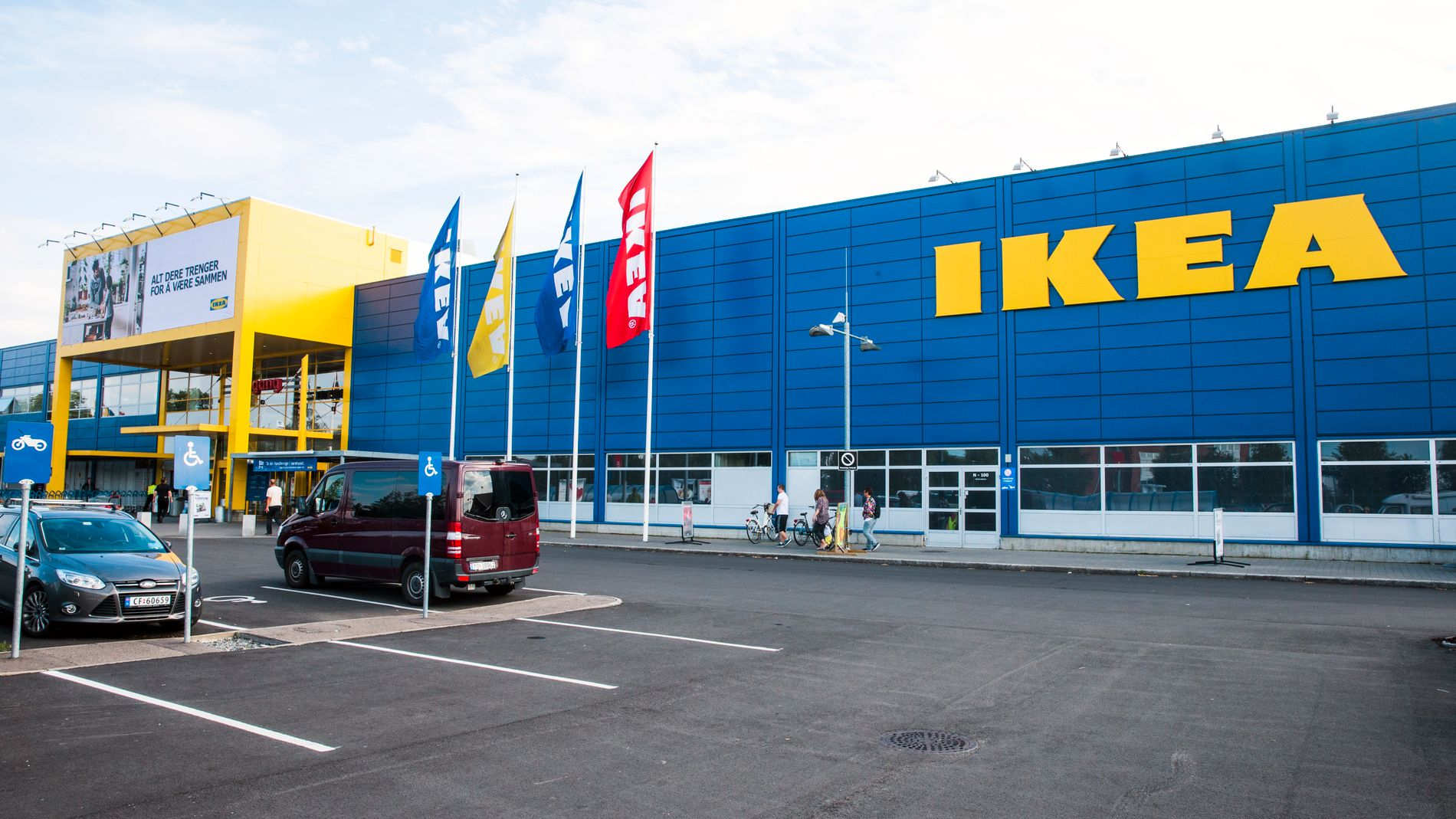 Ikea tilbakekaller støtfarlig lampe
