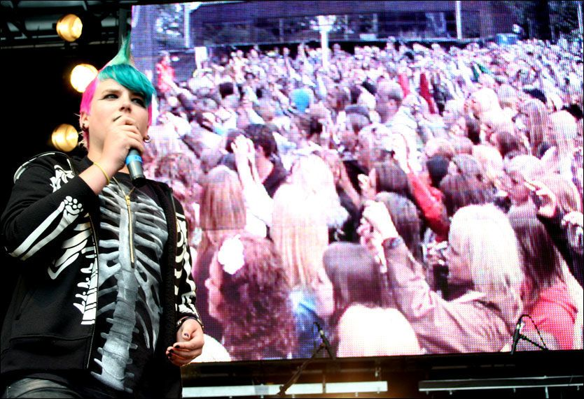 A-ha med minikonsert - VG Nett om VG-Lista Topp 20