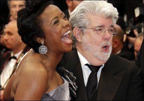 George Lucas 68 Og Kona 44 Fikk Datter Vg