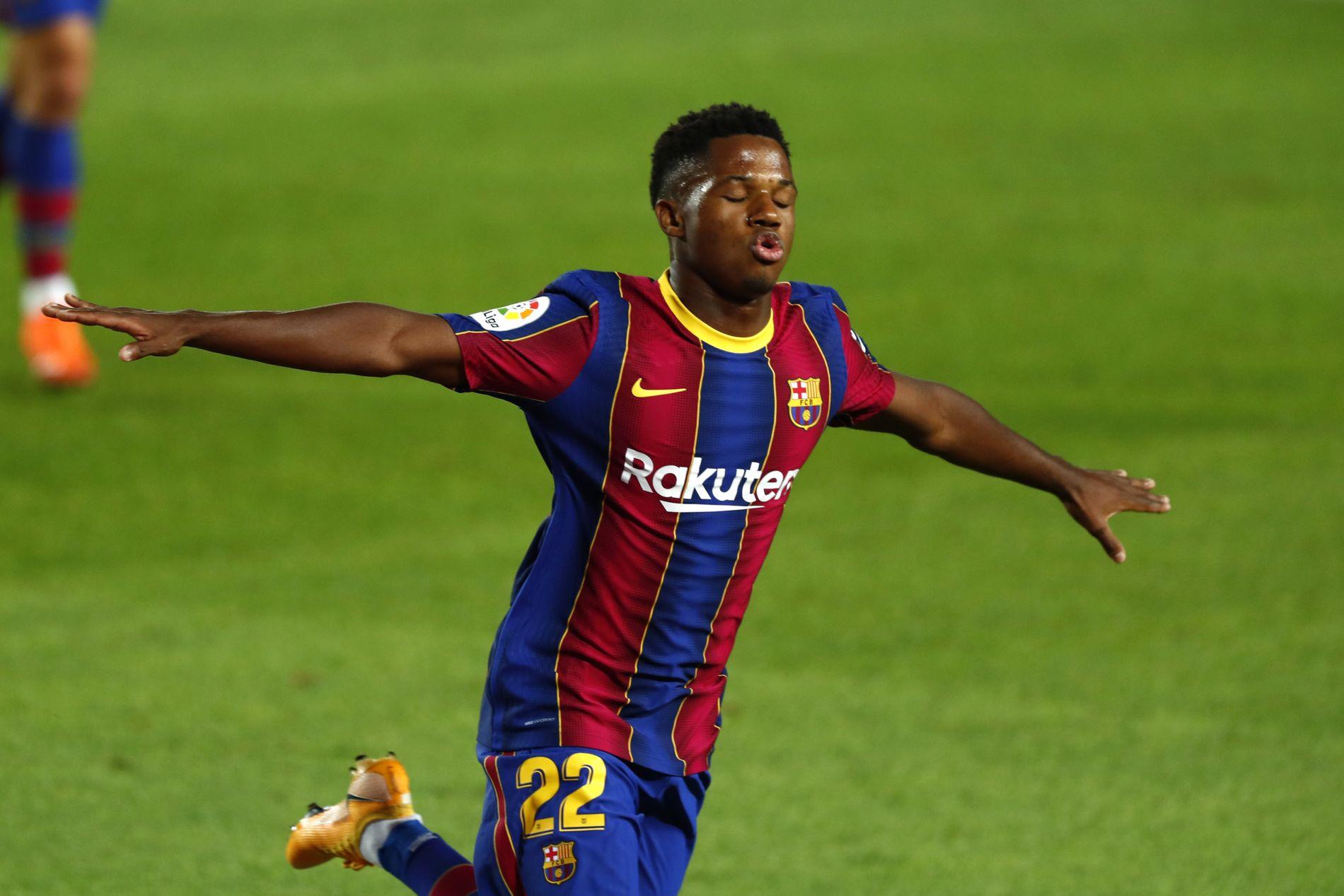 Messi scoret i første kamp etter bråket, men Ansu Fati (17) stjal showet –  VG