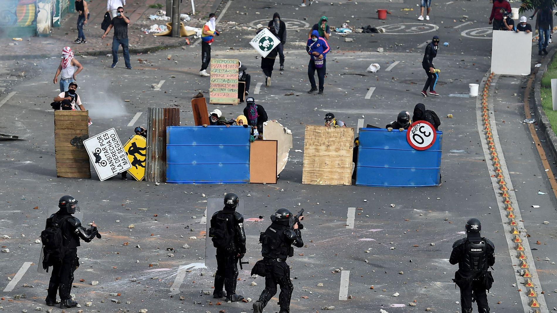 Heftige sammenstøt i Colombia:– Ekstremt brutal fremferd
