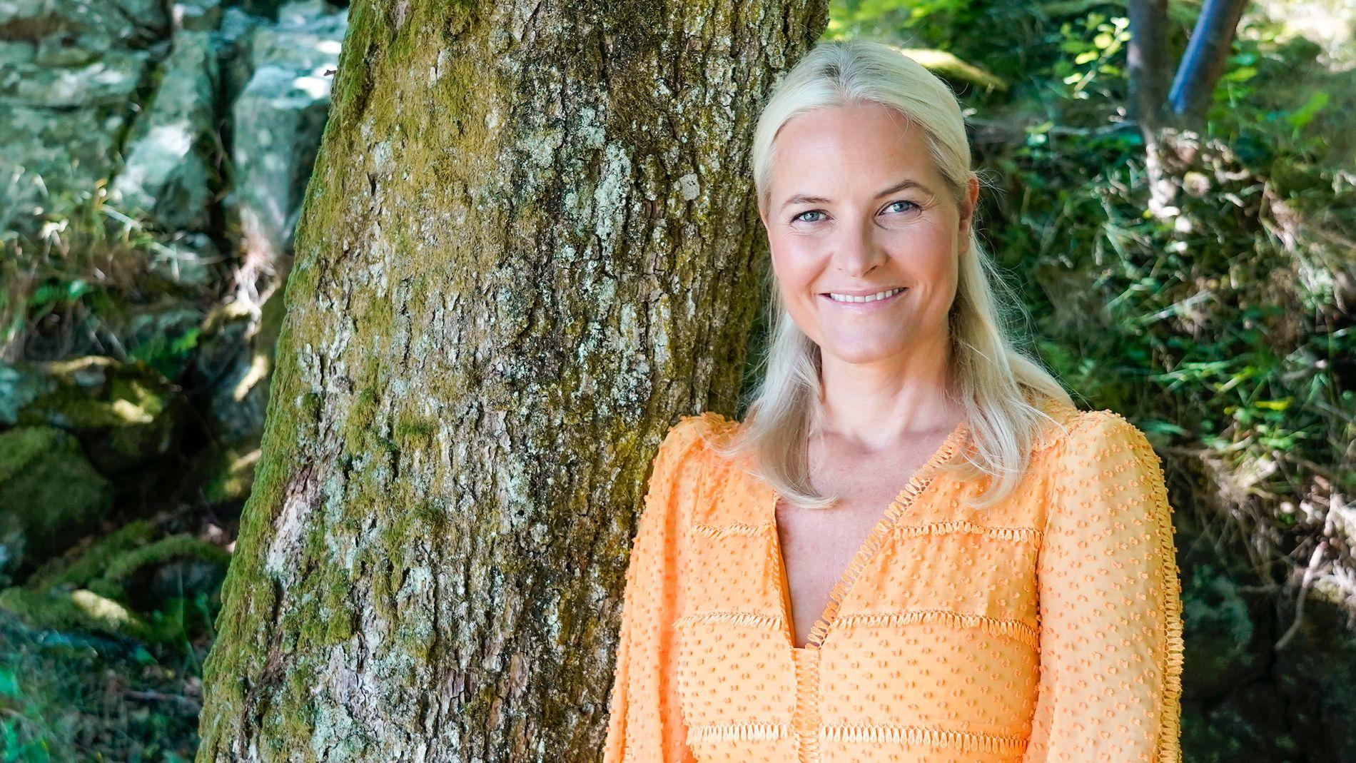 Kronprins Haakons ekskjæreste spøker med likheten til Mette