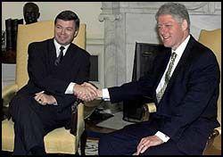 Bondevik hos Clinton – VG